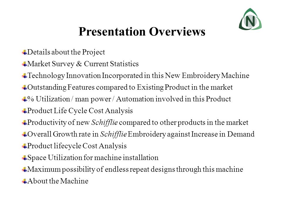 Details about the Project Nantex brings its first invented product in the textile industry – Vertical Embroidery Machine.