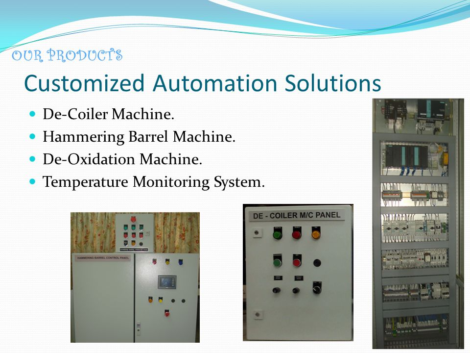 Customized Automation Solutions De-Coiler Machine.