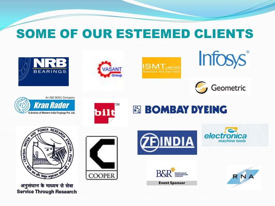 SOME OF OUR ESTEEMED CLIENTS