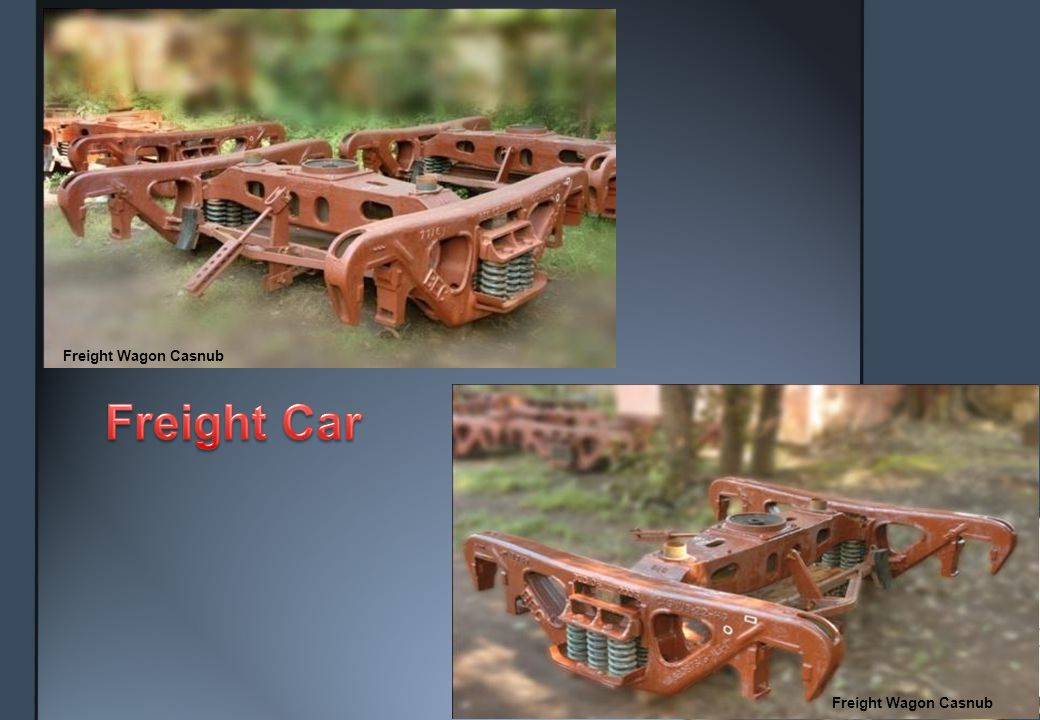Locomotive Truck Frame Locomotive Flexi-coil Bogie