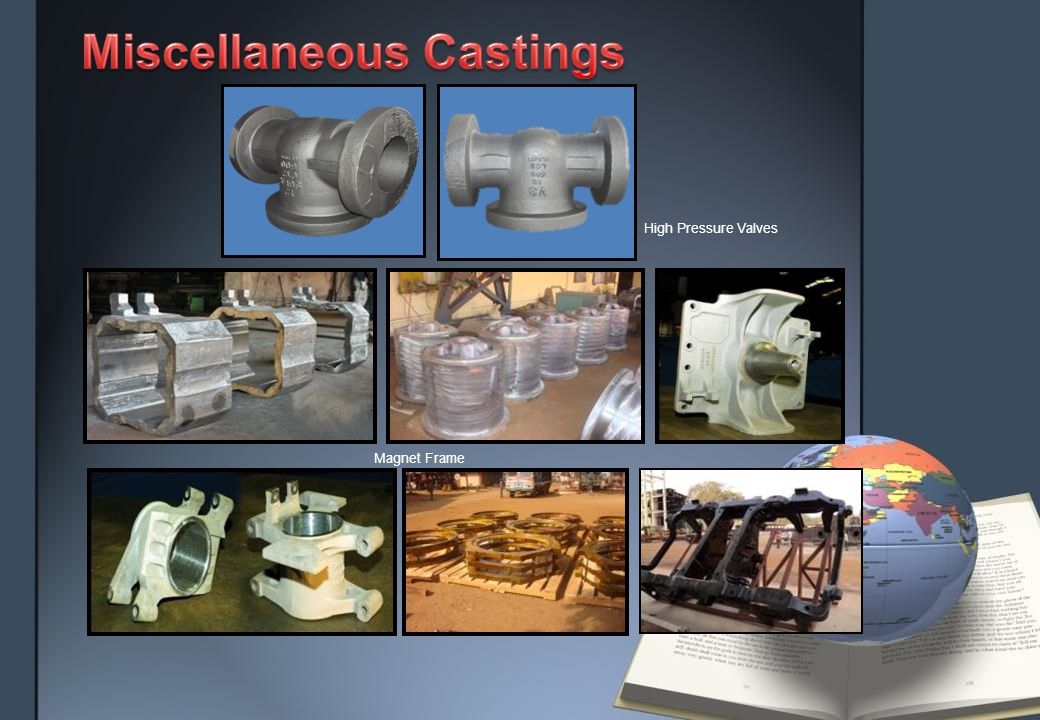 Pallet Body Castings Pallet Body Assembly