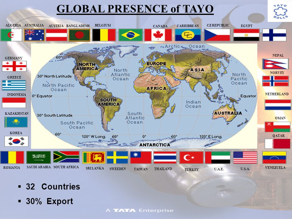 AUSTRALIA ALGERIA AUSTRIABANGLADESH BELGIUM CANADA CARRIBBEAN CZ REPUBLIC EGYPT KAZAKHSTAN KOREA NEPAL NORVEY NETHERLAND OMAN QATAR SAUDI ARABIASOUTH AFRICA SRI LANKA SWEEDEN TAIWAN THAILAND TURKEY U.A.E.