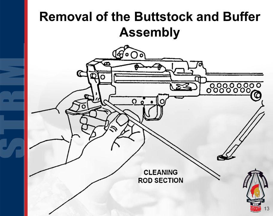 13 Removal of the Buttstock and Buffer Assembly