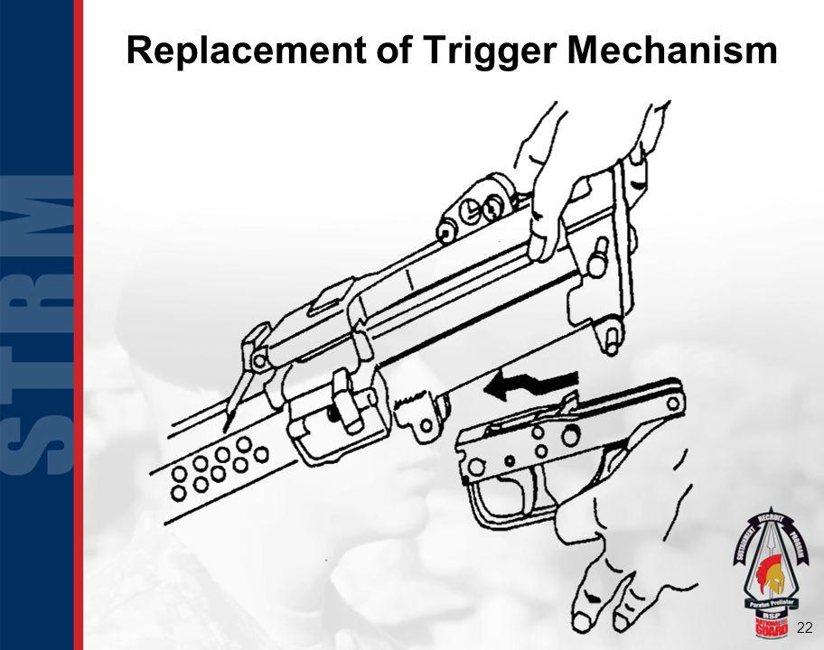 22 Replacement of Trigger Mechanism