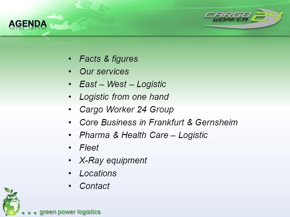 … green power logistics Cargo Worker 24 GmbH Cargo-City-South, Bldg.
