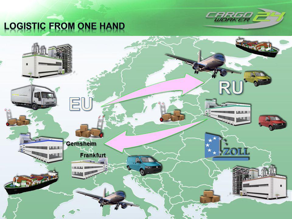 … green power logistics Gernsheim Frankfurt
