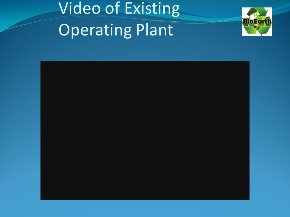 Video of Existing Operating Plant