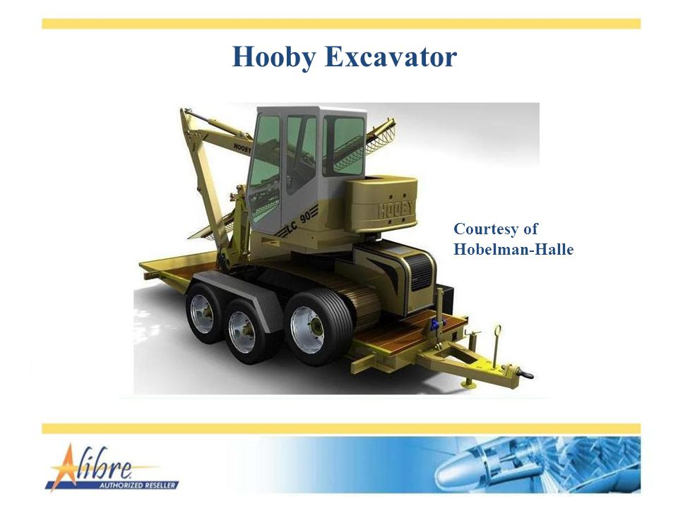 Hooby Excavator Courtesy of Hobelman-Halle