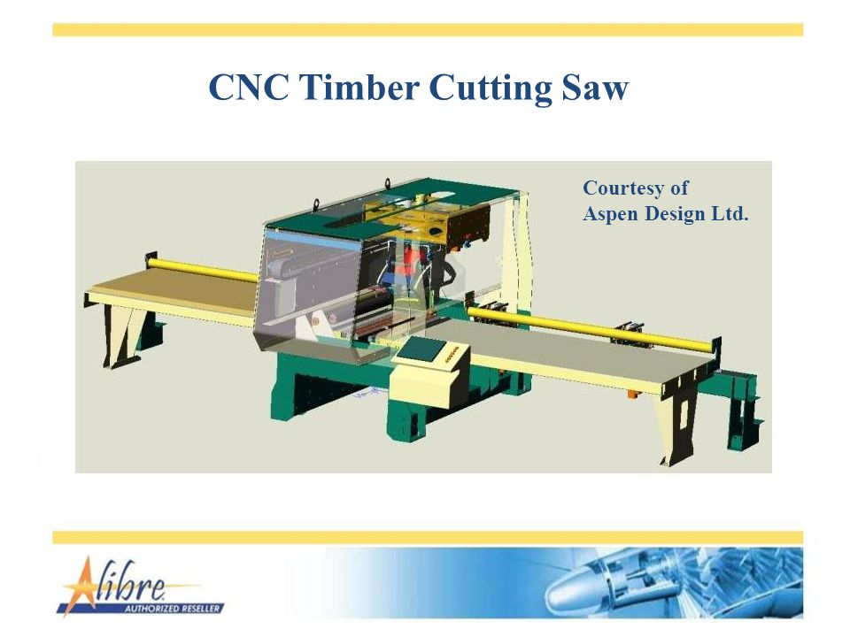 CNC Timber Cutting Saw Courtesy of Aspen Design Ltd.