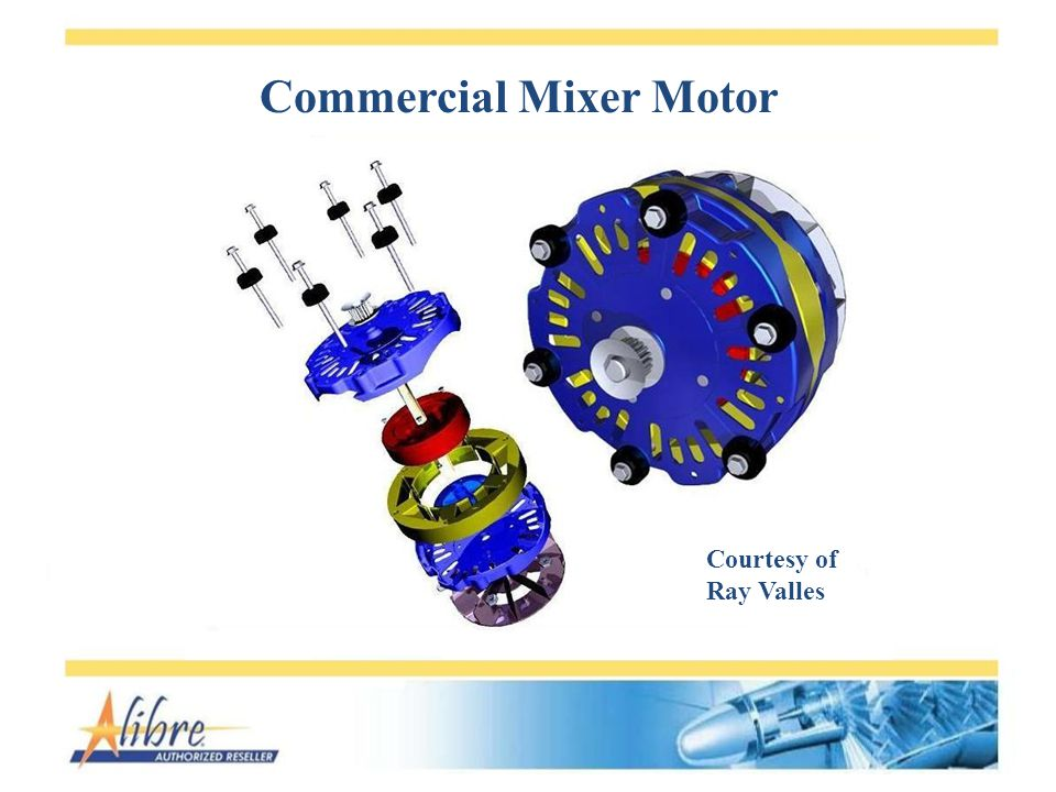 Commercial Mixer Motor Courtesy of Ray Valles