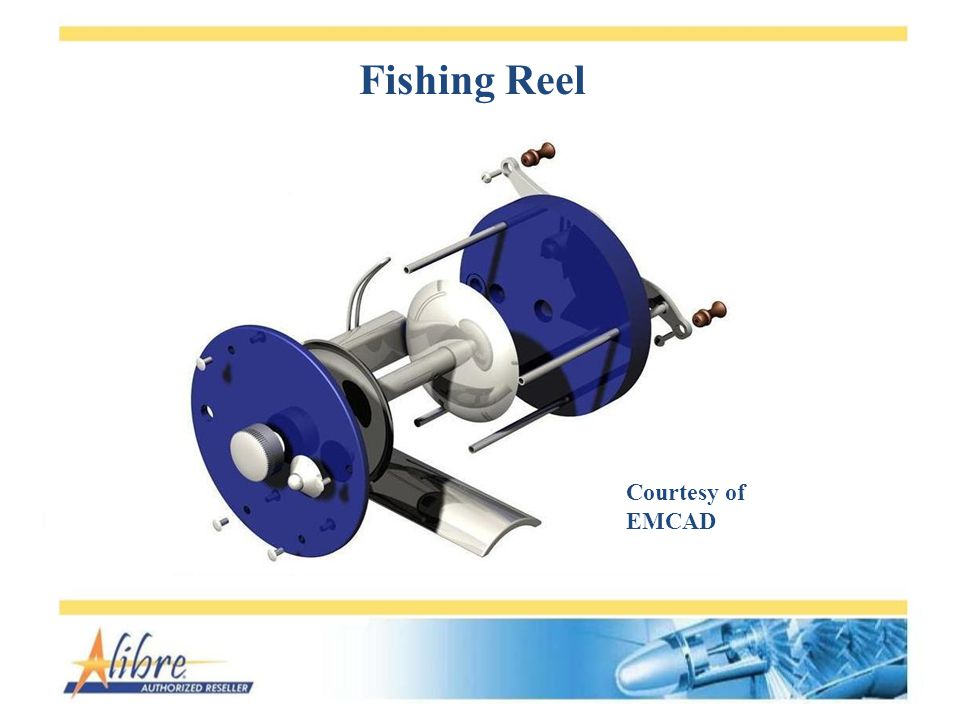 Fishing Reel Courtesy of EMCAD