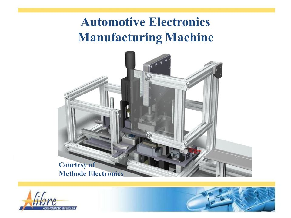 Automotive Electronics Manufacturing Machine Courtesy of Methode Electronics