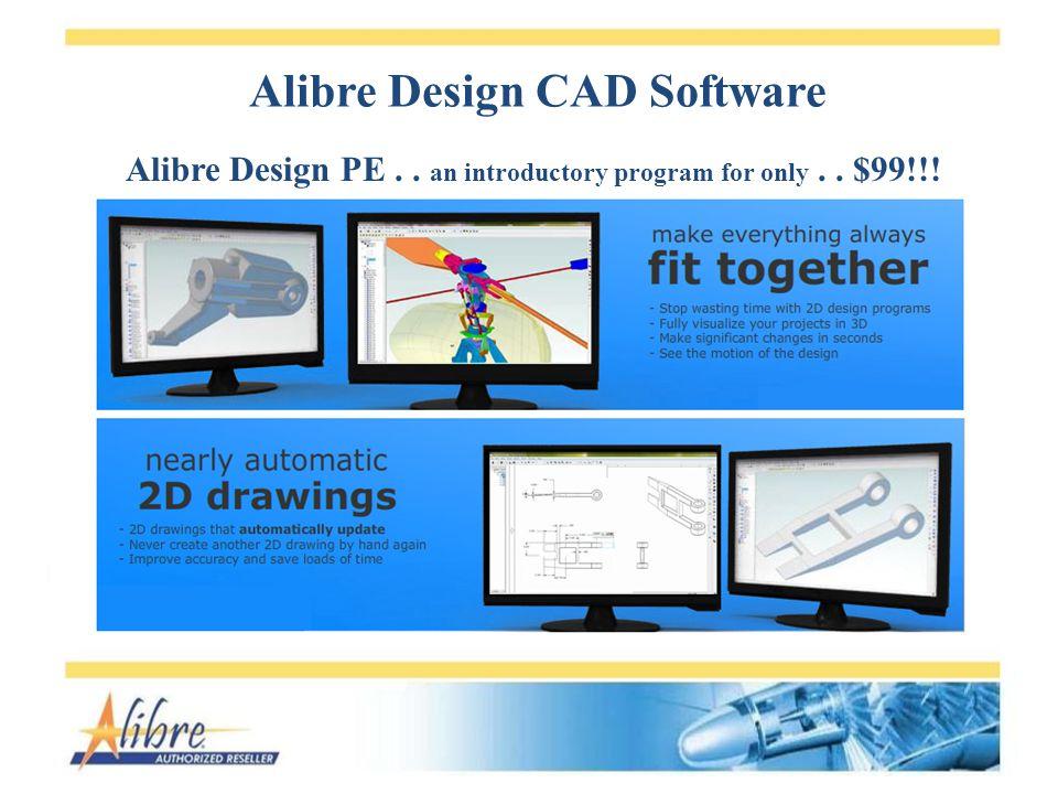 Alibre Design CAD Software Alibre Design Pro...$599!!.