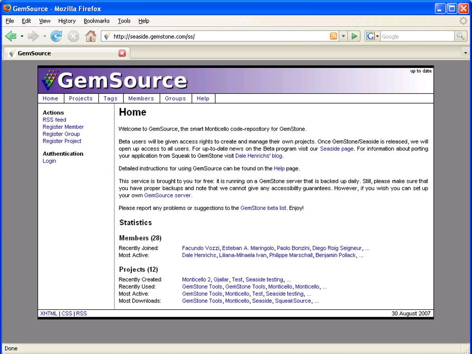 Copyright © 2007, GemStone Systems Inc. All Rights Reserved. 13 GemSource
