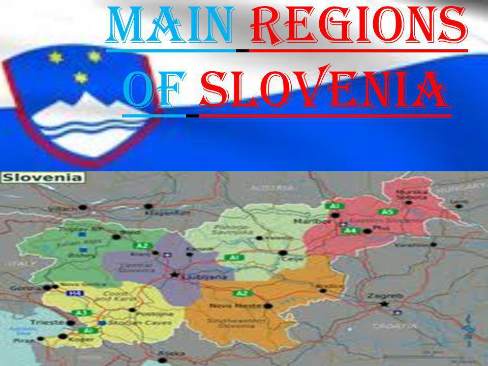 Map Of Europe Showing Slovenia