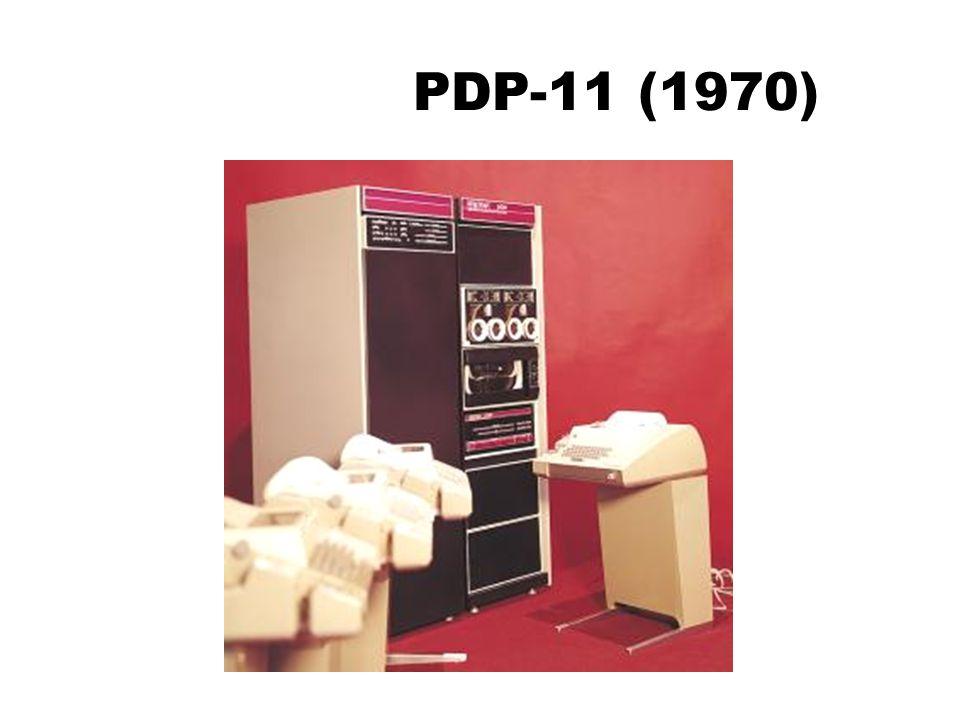 PDP-11 (1970)