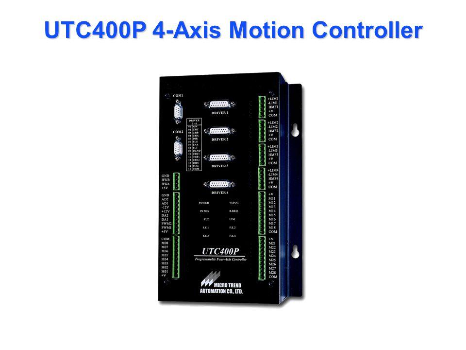 UTC400P 4-Axis Motion Controller