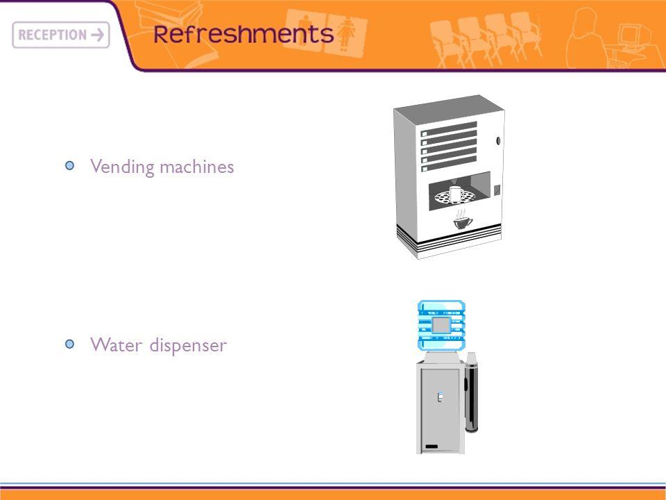 Vending machines Water dispenser