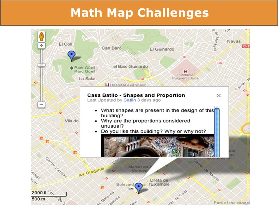 Rubrics - Self & Peer Assessment Math Map Challenges