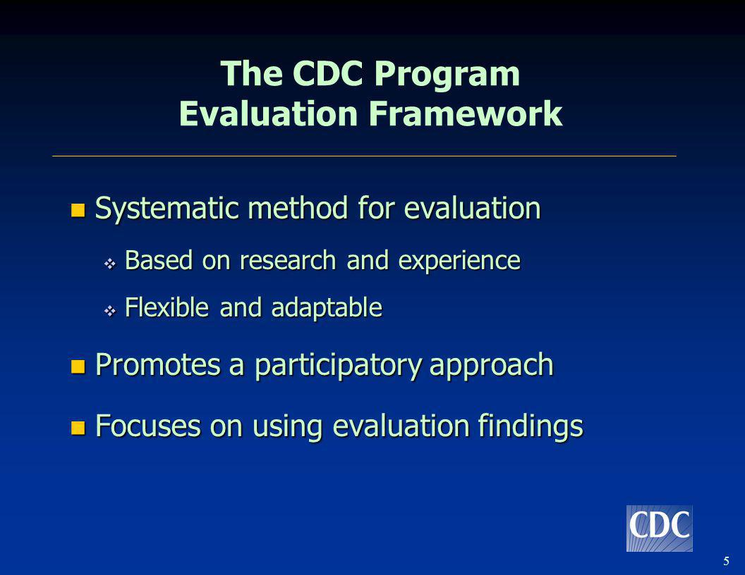 6 Sections of an Evaluation Plan Introduction Introduction Stakeholder Assessment Stakeholder Assessment Step 1: Engage Stakeholders Step 1: Engage Stakeholders Background and Description of the TB Program and Program Logic Model Background and Description of the TB Program and Program Logic Model Step 2: Describe the Program Step 2: Describe the Program Focus of the Evaluation Focus of the Evaluation Step 3: Focus the Evaluation Design Step 3: Focus the Evaluation Design