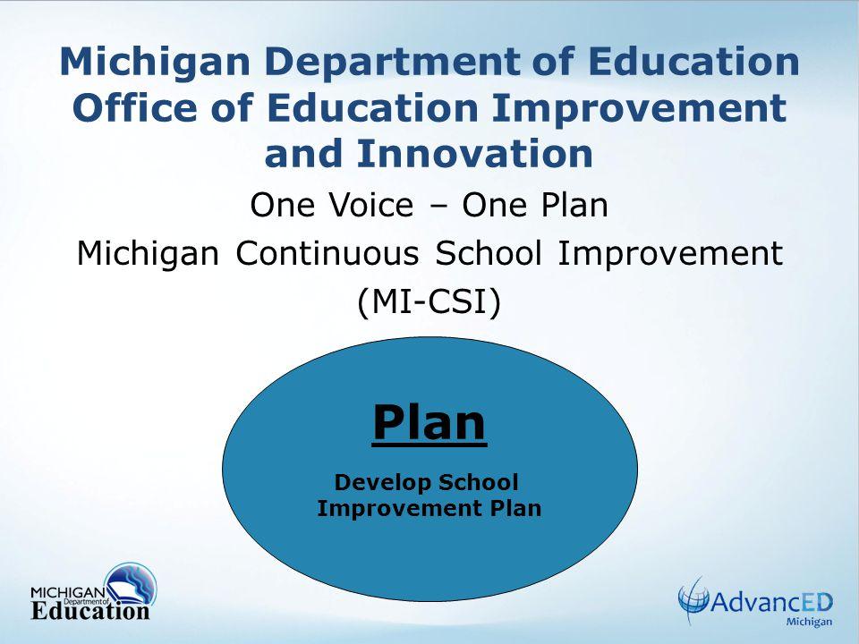 12 Develop School Improvement Plan Criteria for Strategy Statements 1.Begin each statement with Teachers/Staff will...