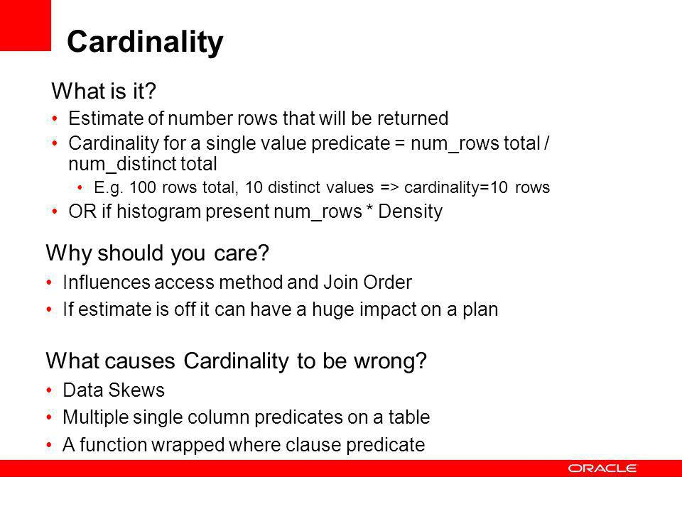 Cardinality What is it.