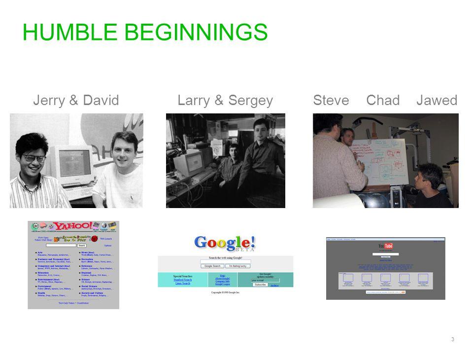 4 HUMBLE BEGINNINGS Steve & SteveTripSandy & Len