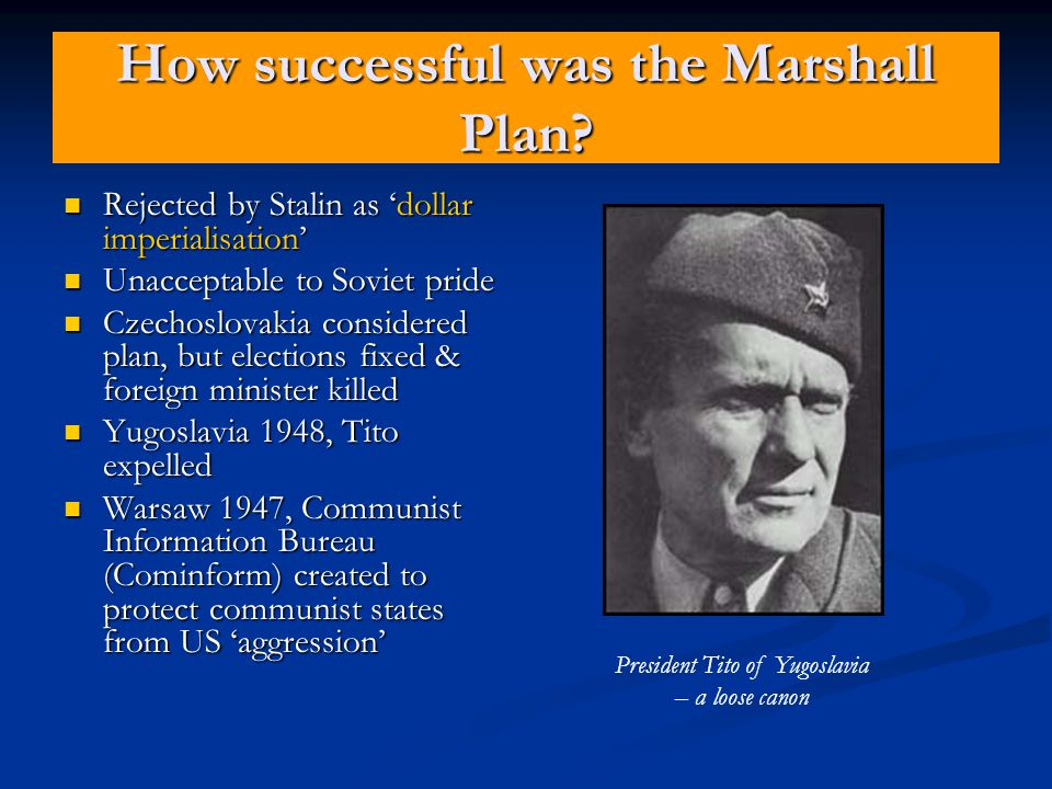 How successful was the Plan.
