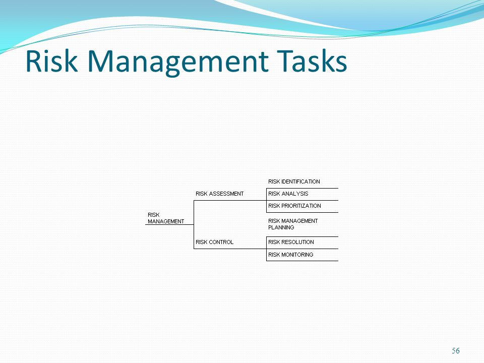 Risk Management Tasks 56