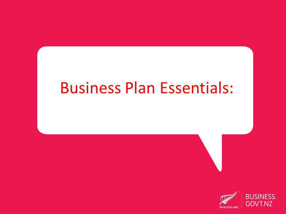 Business Plan Essentials: