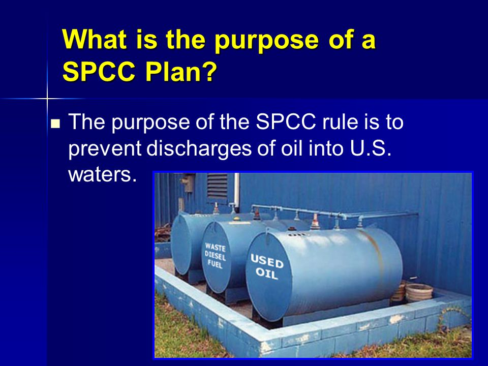 SPCC Plan Requirements 15.