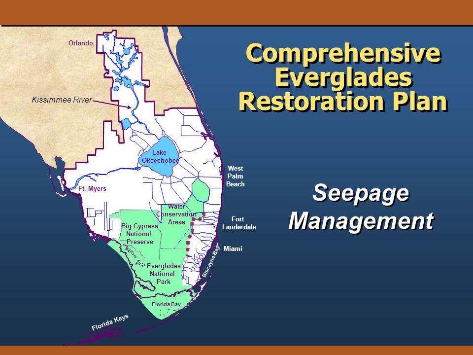 Seepage Management Comprehensive Everglades Restoration Plan