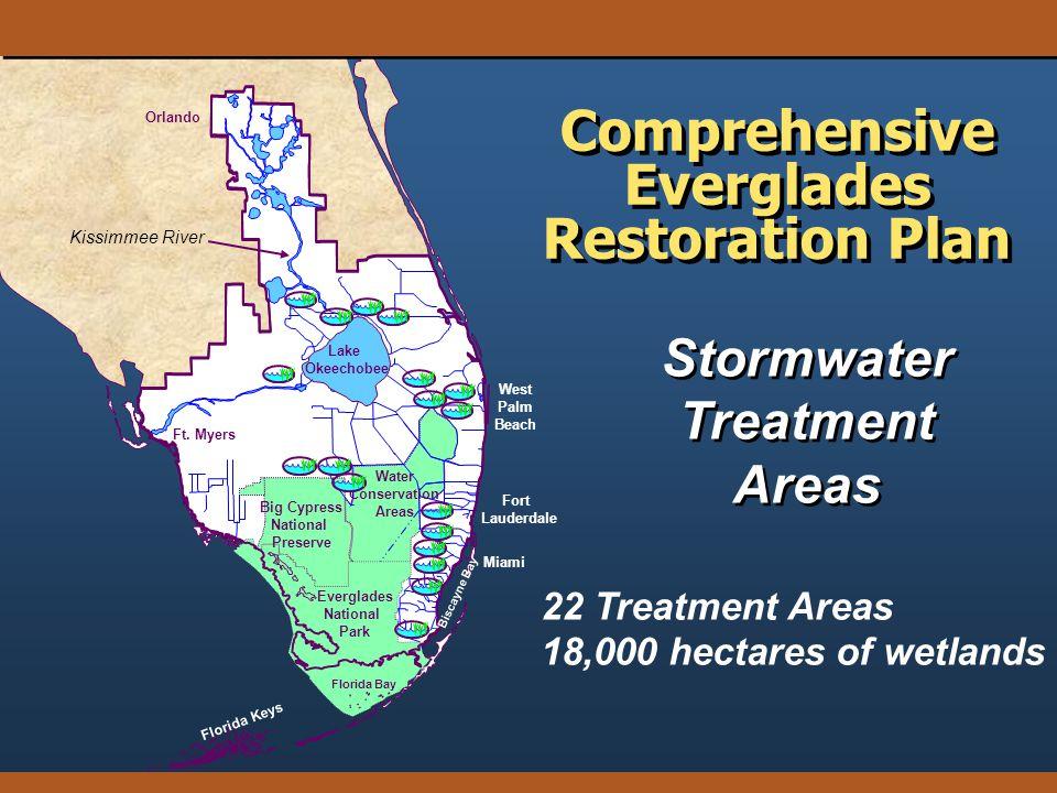 Orlando Florida Keys Florida Bay Big Cypress National Preserve Everglades National Park Lake Okeechobee Ft. Myers Water Conservation Areas Biscayne Ba