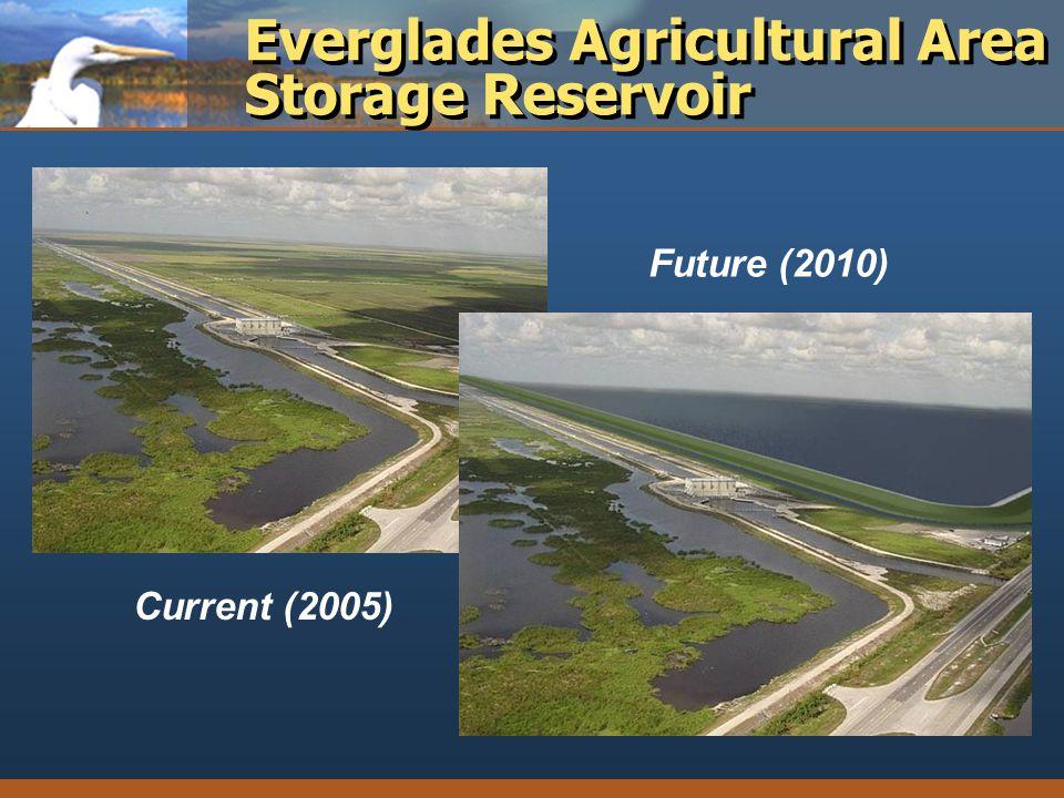 Everglades Agricultural Area Storage Reservoir Current (2005) Future (2010)