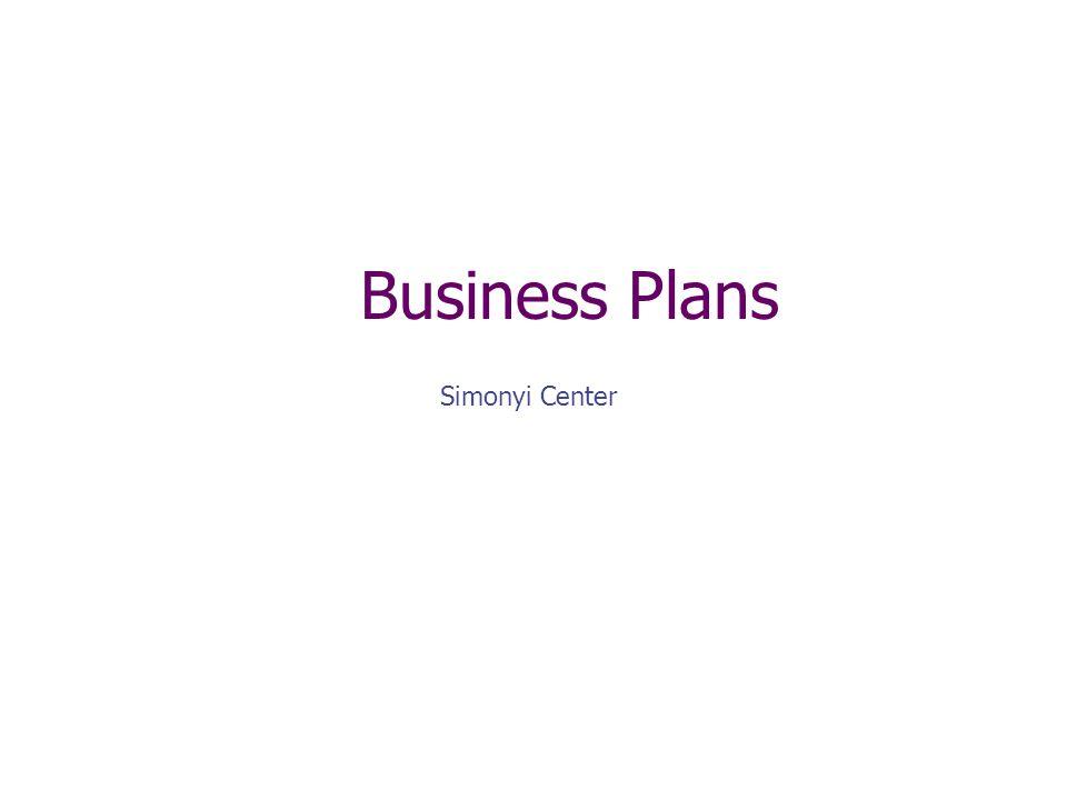 Marketing Plan, cont.