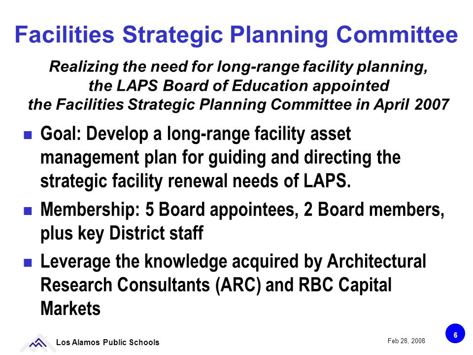 17 Los Alamos Public Schools Feb 28, 2008 The Ongoing Bond Program has become Maintenance Dominated $M