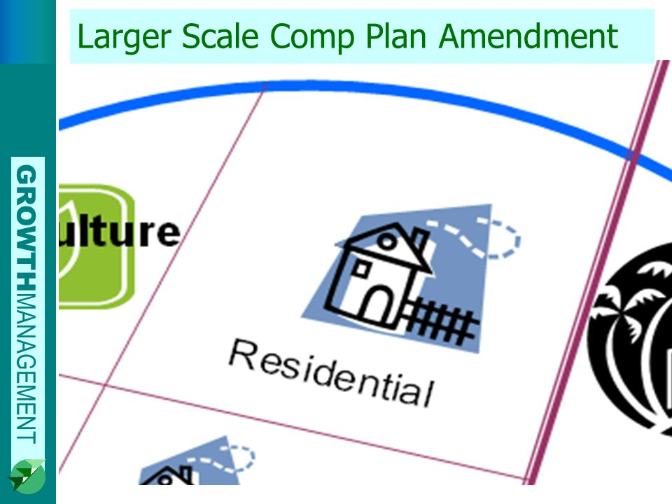 GROWTH MANAGEMENT Larger Scale Comp Plan Amendment