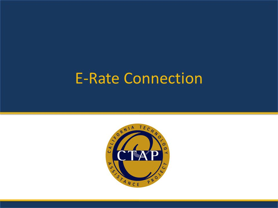 E-Rate Connection
