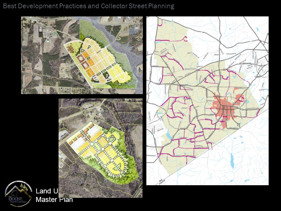Land Use Master Plan Best Development Practices and Collector Street Planning