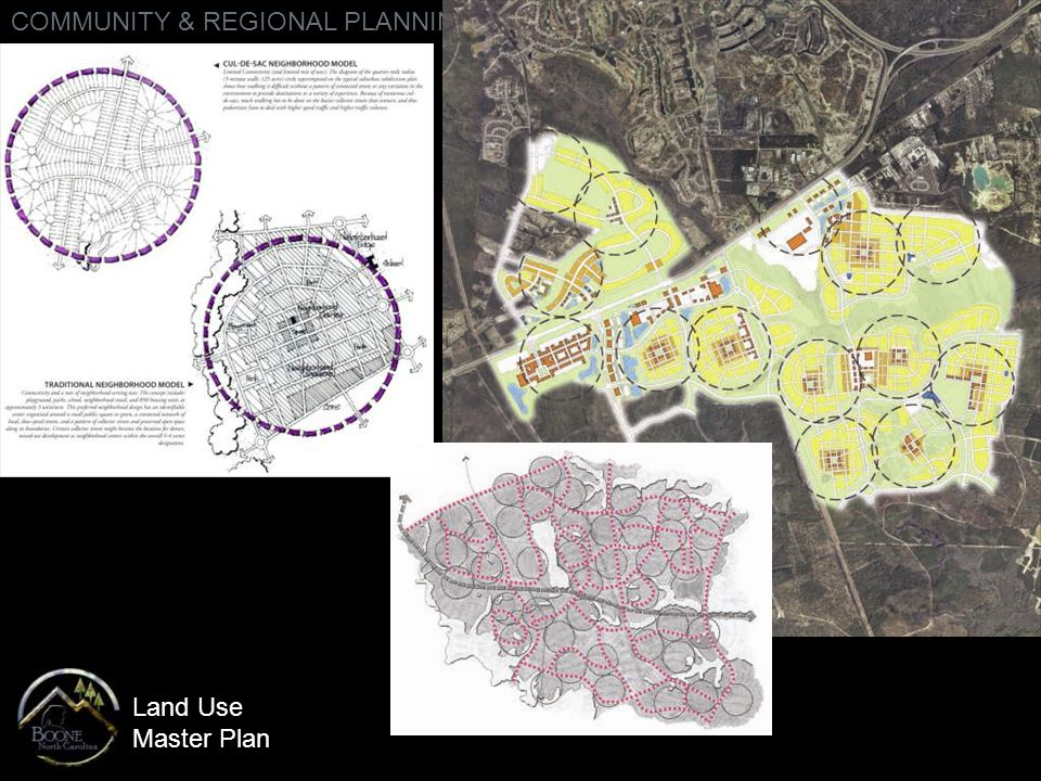 Land Use Master Plan COMMUNITY & REGIONAL PLANNING