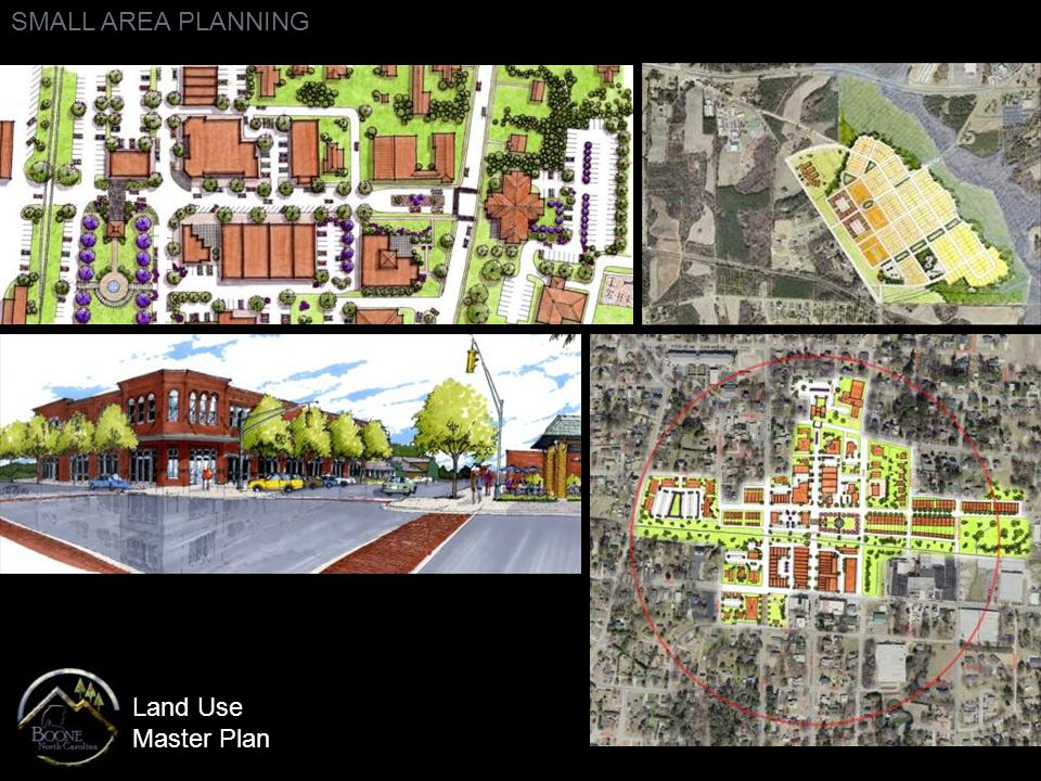 Land Use Master Plan SMALL AREA PLANNING