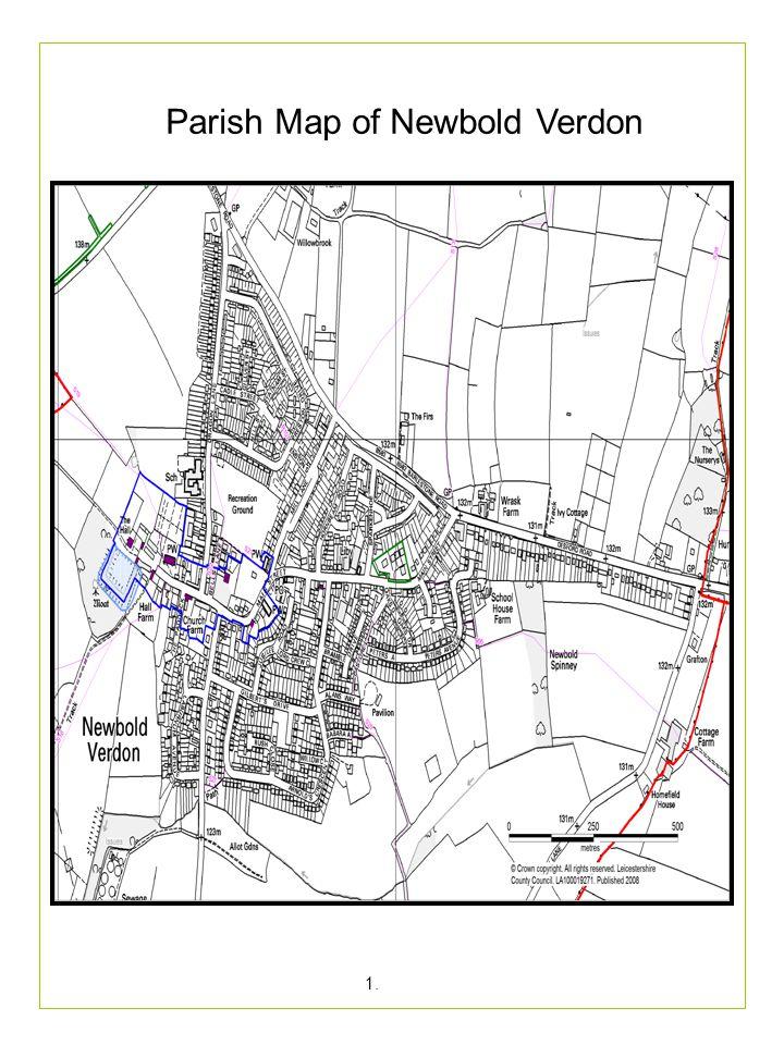 Index Newbold Verdon Parish Map.Introduction A Short History of Newbold Verdon 1.