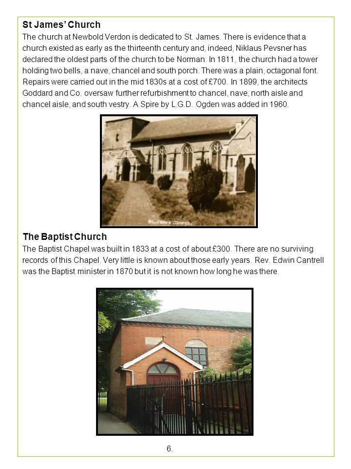 The Methodist Chapel.