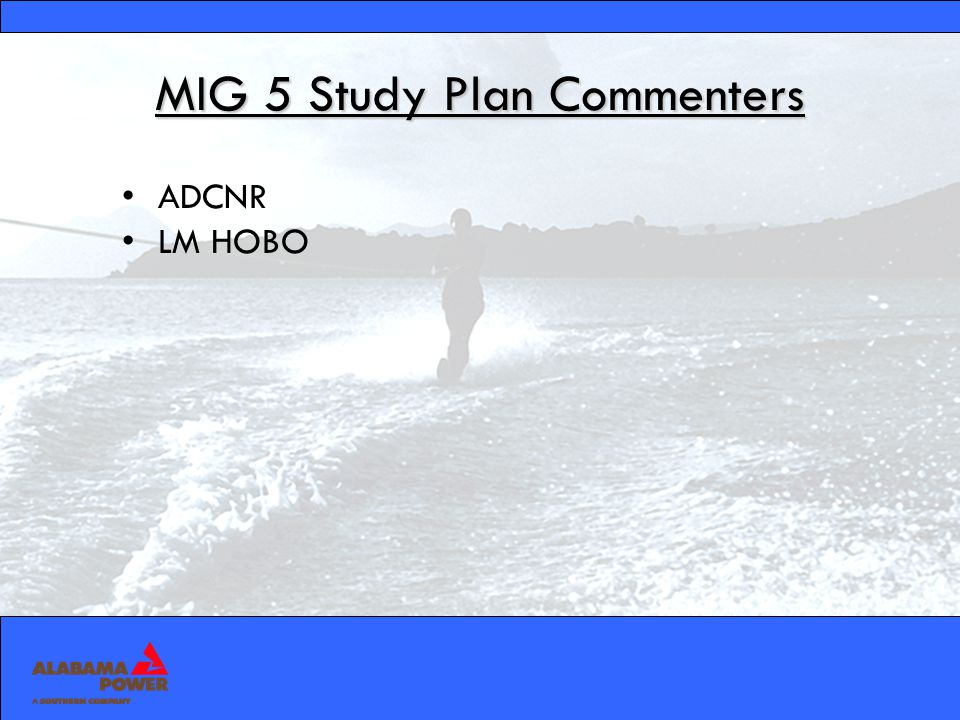 Study Plan 1 Recreation Plan MIG 5 Recreation