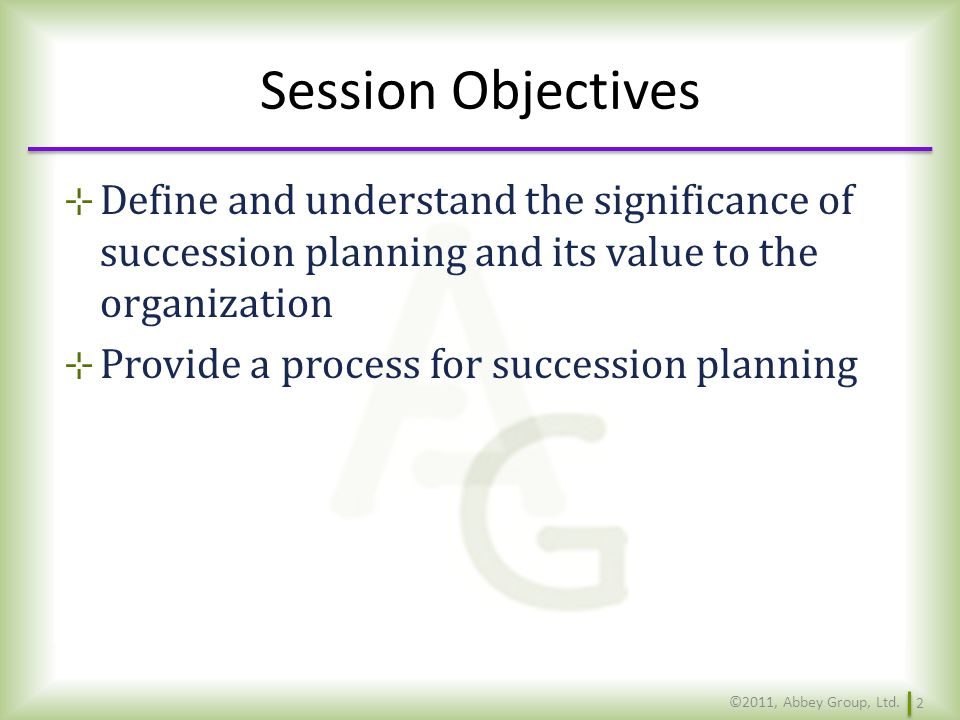 What is Succession Planning.What are the goals of succession planning.