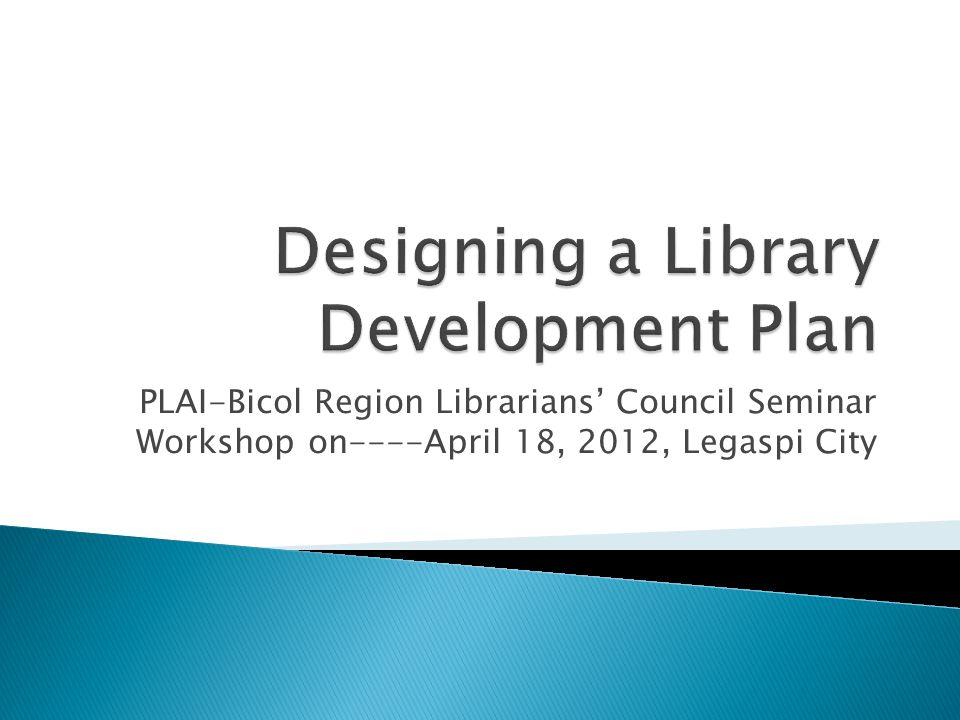 PLAI-Bicol Region Librarians Council Seminar Workshop on----April 18, 2012, Legaspi City