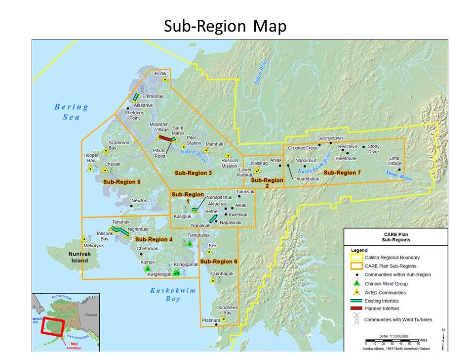 Sub-Region Map