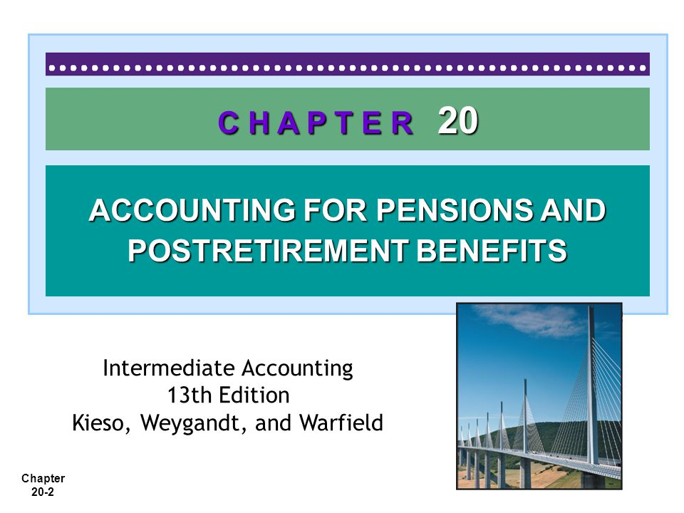 Chapter 20-43 Special Issues The Pension Reform Act of 1974 Pension Terminations Reporting Pension Plans in Financial Statements LO 9 Describe the requirements for reporting pension plans in financial statements.