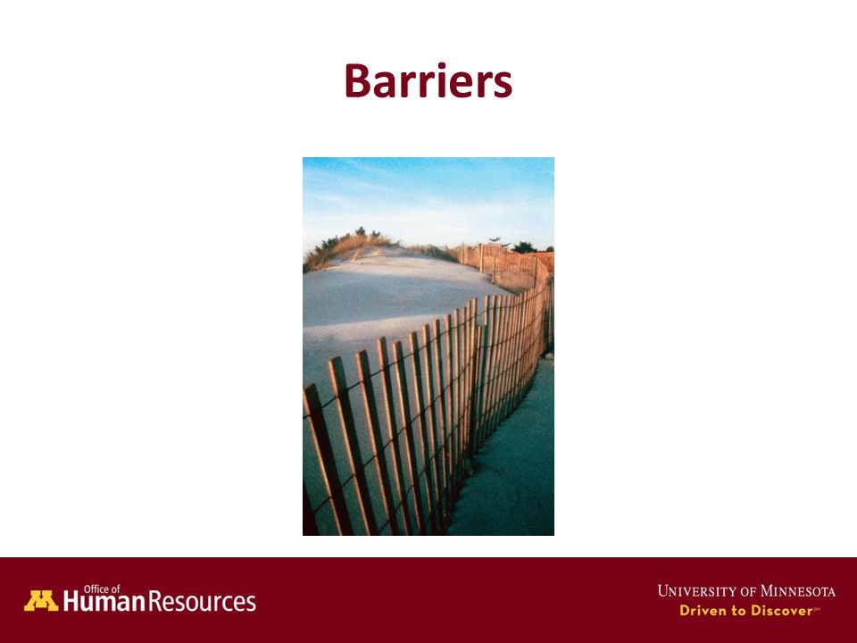 Human Resources Office of Barriers