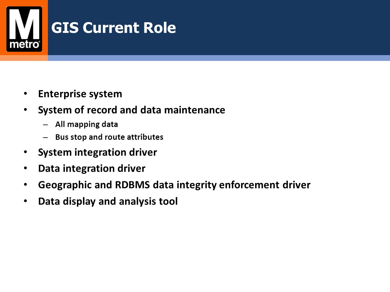 GIS Service Tier Architecture
